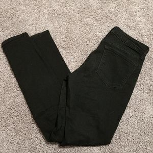 Rockstar low rise black jeans size 8 long / tall